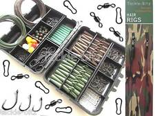 Fishing Tackle Box Quick Links Carp Weights Safety Clips Hooks Swivels Hair rigs