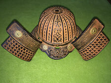 Vintage Decorative Cast Iron Samurai Helmet