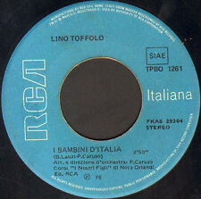 LINO TOFFOLO - Johnny Bassotto - RCA Italiana