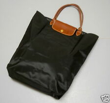 *Longchamp Le Pliage Fold Tote Bag*Black*Made in France*New!!