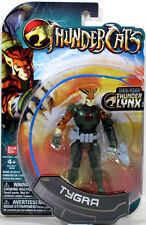 "Thundercats 4"" Scale TYGRA 4-inch Action Figure animated Bandai NEW NIP"