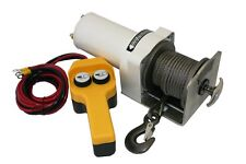 DAVIT WINCH STAINLESS STEEL 12v For Marine Use