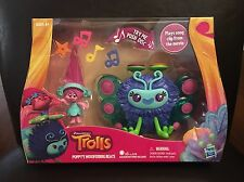 Dreamworks Trolls Poppy's Wooferbug Beats Plays song cilp from movie NEW/VHTF
