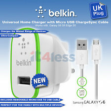 Belkin Universal 2.1amp Micro USB Main Charger Sync Cable  for Smartphone/Tablet