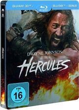HERCULES (Dwayne Johnson) Blu-ray 3D + 2 Blu-ray Discs, Steelbook NEU+OVP