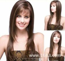 100% Real hair! New Korean Fashion Golden brown mix fashion Human Hair wigs
