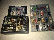 1970's Vintage Star Wars Action Figures Lot of 24 w/Case and Original Weapons