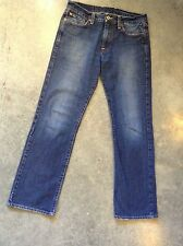 Lucky Brand Jeans-Sz 29-Straight Fit-Med Wash-Cotton Blend-Inseam 29-Low-Petites