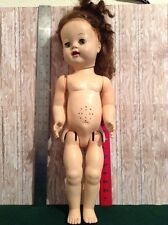 "1950s Vintage Ideal Saucy Walker Doll 22"" Teeth Show Flirty Eyes (208)"