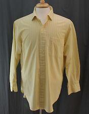 Polo by Ralph Lauren, 16 ½ 32/33 Yellow/Blue Pinstripe Dress Shirt