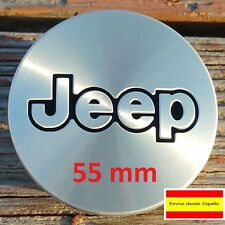 1 x Tapa De Centro De Rueda llanta jeep aluminio 55mm OEM # 52059522AA