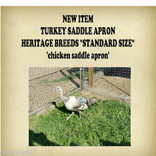"NEW ITEM ""TURKEY""  or    CHICKEN SADDLE APRON HATCHING EGGS BACK PROTECTION"