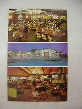 VINTAGE MULTI-VIEW PHOTO POSTCARD THE BISHOP BUFFET IN DES MOINES IOWA UNUSED