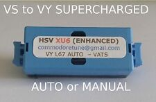 """VS to VY Commodore Supercharged V6 """"HSV XU6 PLUS ENHANCED"""" Memcal"""