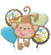 Fisher - Price Animals of the Rainforest Baby Shower Balloon Bouquet