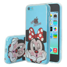 Coque Housse Silicone TPU Ultra-Fine Minnie Mouse pour Apple iPhone 5C