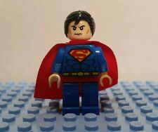 "Superman vs Batman Minifigure  Lego Batman Game Superhero ""Man of Steel"" Custom"