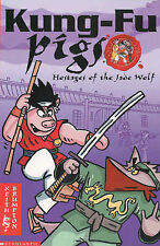 Hostages of the Jade Wolf (Kung Fu Pigs), Keith Brumpton