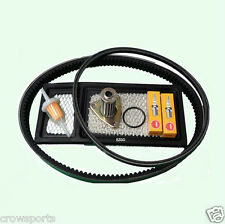 EZGO TXT GOLF CART 94-05 TUNE UP KIT,OIL FILTER, DRIVE & GENERATOR BELTS *VALUE*