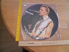 The Clash Interviews picture disc 1984 vinyl record album LE England SCARCE 12""