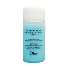 * Duo Express *CHRISTIAN DIOR Eye Makeup Remover 4.2 oz 125ml Women Unboxed  New