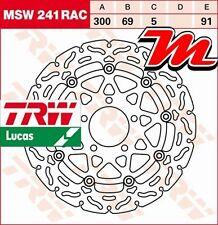 Disque de frein Avant TRW Lucas MSW 241 RAC pour Suzuki GSXR 600 WVB2 2004-2005