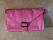 201  Yves Saint Laurent YSL Pink Cosmetic Make-Up Bag Purse