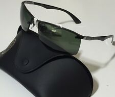 NWT RAY BAN Men's RB 8315 004/9A POLARIZED CARBON FIBER SUNGLASSES 63/15