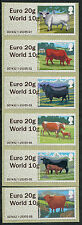 """WINCOR TYPE II CATTLE DUAL VALUE SET OF 6 """"EURO 20g/WORLD 10g""""  POST & GO"""