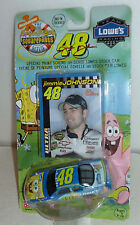 #48 JIMMIE JOHNSON LOWES SPONGEBOB THE MOVIE 2004 RACING CHAMPIONS 1/64 NEW