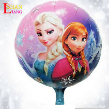 "HUGE 2-Sided Frozen Elsa Anna Mylar Jumbo Balloon Birthday Party Supplies 18"" 1X"