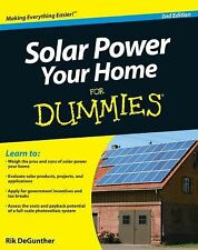 Solar Power Your Home for Dummies by Rik DeGunther (2010, Paperback)