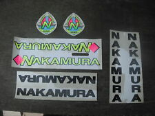 Nakamura Original Bicycle Bike Decal Sticker Set Not Remade!! Free Shipping!!