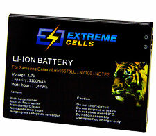 Extremecells Batteria Samsung Galaxy Note 2 Note II eb595675lu Battery Batteria