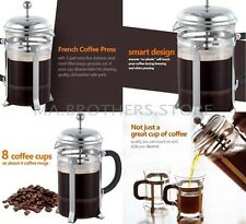 French Press Coffee Cup Maker 8 Tea Stainless Steel 34 Ounce Mug 3 Bodum Bonjour