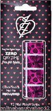 Iron Fist Lovelace Pink Nail Polish Tiras, Arte, Stickers De Halloween