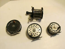 Fishing Reel Lot Parts Restoration Fox Plymouth Pflueger Un-marked 4 Pc.