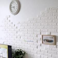 New 60 X 60cm 3D Brick Pattern Wall Sticker Living Room Wall Background TV Decor