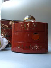 YSL OPIUM EDT COLOSSAL 120ml UNTOUCHED VINTAGE 1980s SPLASH FLASK NOT MINT BOX