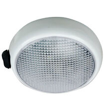 "Perko 3.5"" inch Round Surface Mount LED Interior Dome Light with Switch (White)"