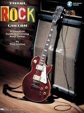 NEW Total Rock Guitar: A Complete Guide to Learning Rock Guitar (Tab Book/CD)