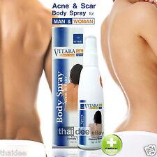 Acne&Scar Body Spray Fast Relieve Reduce Acne Pimple Scar on Back Chest Neck Arm