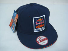 NEW RED BULL KTM FACTORY RACING FRONT LOGO PATCH NAVY SNAPBACK HAT OFFROAD BAJA