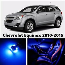 14pcs LED Blue Light Interior Package Kit for Chevrolet Equinox 2010-2015