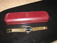 "PATEK PHILIPPE ""Jumbo Ellipse"" Women Watch 18K Gold Heavy 96 grams 3738 Blue"