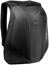 Aerodynamic Motorcycle HARDSHELL Laptop Bag BACKPACK Stealth Black NEW
