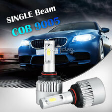 2x160W 9005/HB3 COB Single Beam LED Headlights Bulbs 16000LM Car 180W 6500K