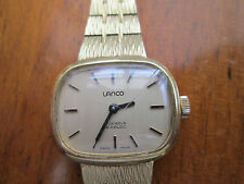 vintage ladies lanco swiss watch, runs,, needs tlc,,,for restoration