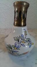 LAMPE BERGER Paris Porzellan verschieden Motive Blüten  - 18 rue duphot  -  02