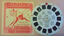 "FT-25 ""Rudolph the Red Nosed Reindeer"": Single View Master Reel with Booklet"